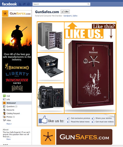 gunsafes.com on facebook